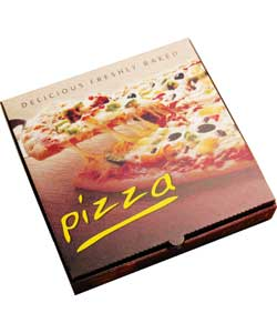 12″ (FULL COLOUR) E FLUTE PIZZA BOXES x100